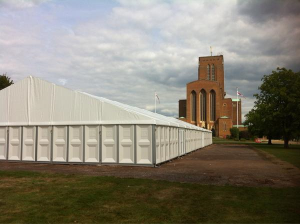 Guildford cathedral canvas
