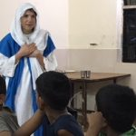Education Actor performs in India